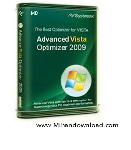 vista behine بهینه سازی ویندوز ویستا با نرم افزار  Advanced Vista Optimizer 2009 v3.5