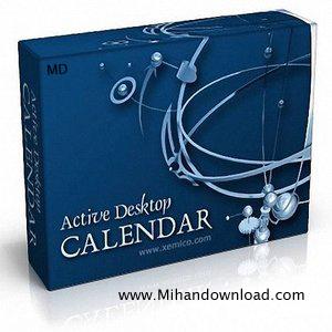 000b84eb medium تقویم دسکتاپ کامپیوتر با Active Desktop Calendar 7.74.090320