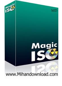 MagicISO ساخت ، ویرایش و تبدیل فرمت فایلهای ایمیج با MagicISO 5.5.274