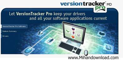Versiontracker Pro 4.1.0    به روز رسانی درایورها با Versiontracker Pro 4.1.0   Build 243
