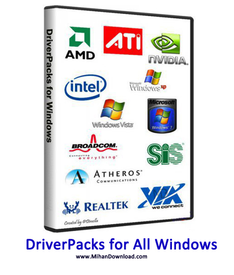 DriverPacks دانلود DriverPacks for All Windows  مجموعه درایور های ویندوز