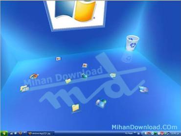 real desktop دسکتاپ سه بعدی با Real Desktop!