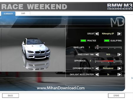 BMW 06 دانلود بازي كامپيوتر اتوموبيل راني بي ام دبليو BMW M3 Challenge