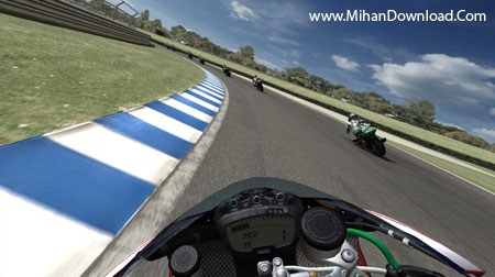 SBK5 دانلود بازی کامپیوتری جذاب و پرهیجان موتور سواری SBK 2009 Superbike World Championship