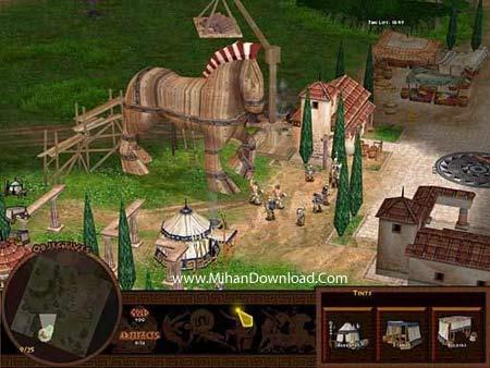 battl2 دانلود بازی کامپیوتری کم حجم و جذاب با سبک استراتژیک Battle for Troy PC Game