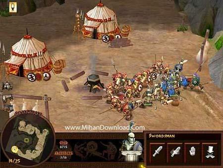 battl3 دانلود بازی کامپیوتری کم حجم و جذاب با سبک استراتژیک Battle for Troy PC Game