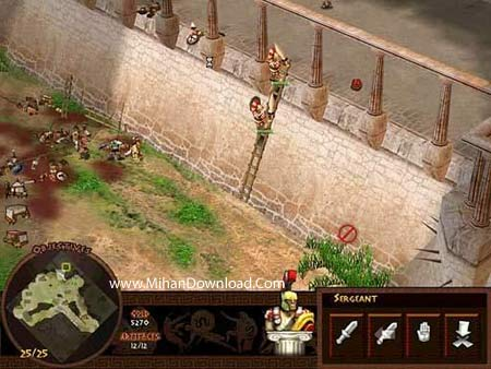 battl4 دانلود بازی کامپیوتری کم حجم و جذاب با سبک استراتژیک Battle for Troy PC Game