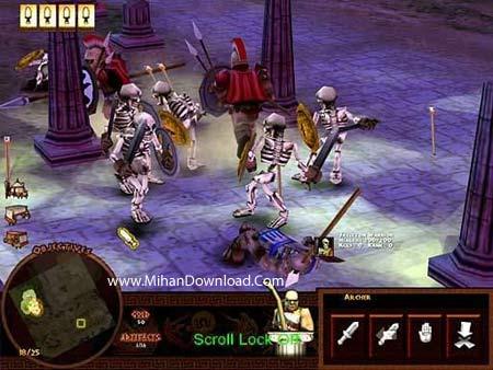 battl5 دانلود بازی کامپیوتری کم حجم و جذاب با سبک استراتژیک Battle for Troy PC Game