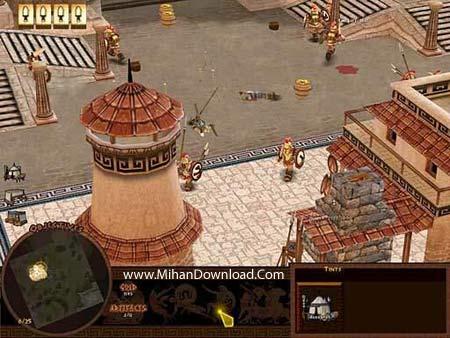 battl88 دانلود بازی کامپیوتری کم حجم و جذاب با سبک استراتژیک Battle for Troy PC Game