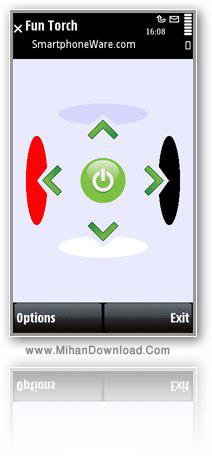 funtouch نرم افزار چراغ قوه رنگی برای گوشی های سری 60 ورژن 5   Fun Torch