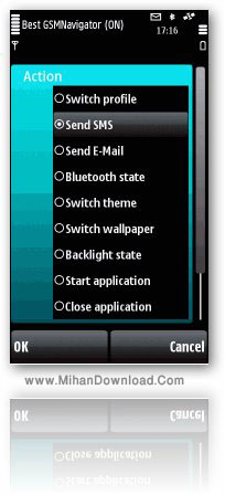 gsmnavig برنامه میانبر برای گوشی 5800 Best GSMNavigator