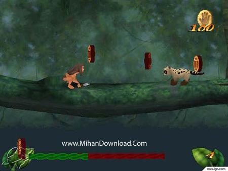 tarzan1 دانلود بازی کامپیوتر کم حجم تارزان Tarzan PC Game