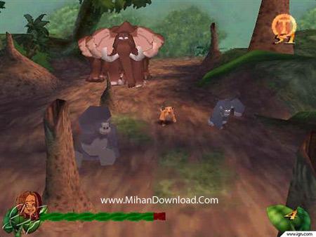 tarzan2 دانلود بازی کامپیوتر کم حجم تارزان Tarzan PC Game
