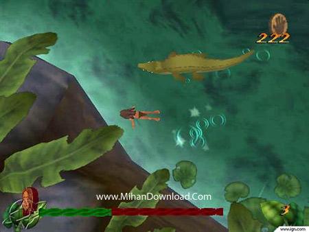 tarzan3 دانلود بازی کامپیوتر کم حجم تارزان Tarzan PC Game