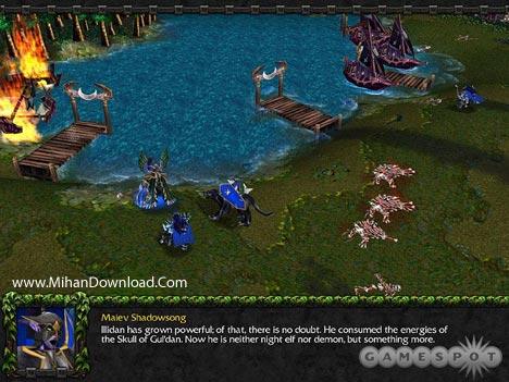 wiii2 دانلود بازي كامپيوتر استراتژيك واركرافت Warcraft III Reign of Chaos + The Frozen Throne