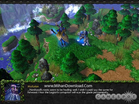 wiii4 دانلود بازي كامپيوتر استراتژيك واركرافت Warcraft III Reign of Chaos + The Frozen Throne
