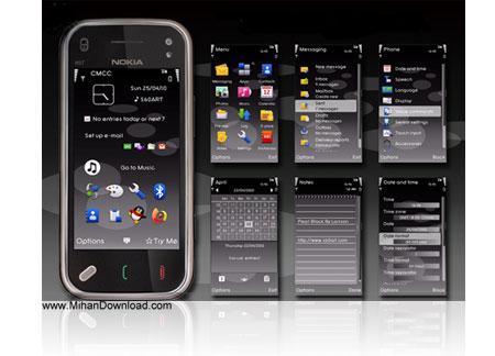 Nokia.S60v5.Theme.www.MihanDownload.com دانلود تم فوق العاده زیبا برای نوکیا S60 V5