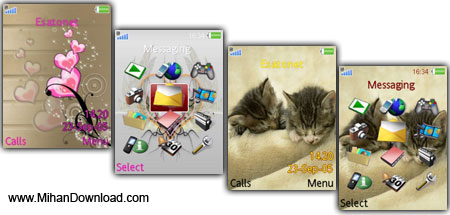 Sonyericsson.240x320.Theme.Pack.1.www.MihanDownload.com مجموعه تم جديد سوني اريكسون 240x320 K800 K770 W580