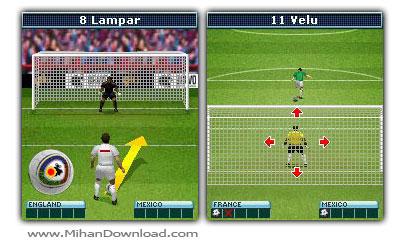 World Penalties 2010 s بازی جدید پنالتی با فرمت جاوا World Penalties 2010