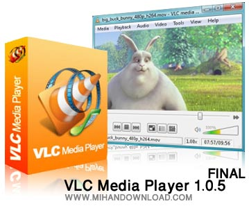 VLC Media Player 1.0.5 FINAL دانلود پلیر فوق العاده قدرتمند VLC Media Player 1.0.5 FINAL